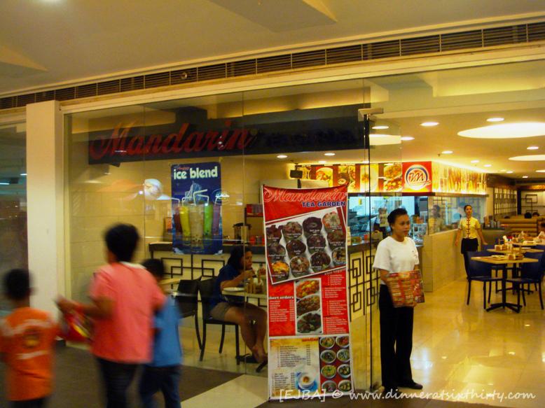 Mandarin Tea Garden Menu Mandarin Tea Garden sm City