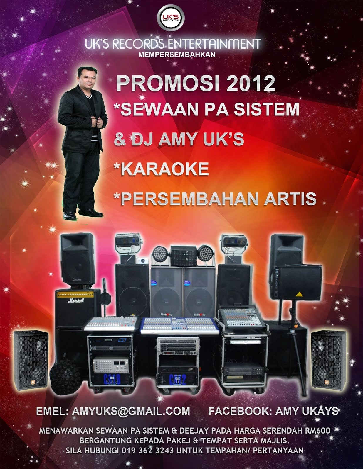 Sewaan Pa sistem & DJ