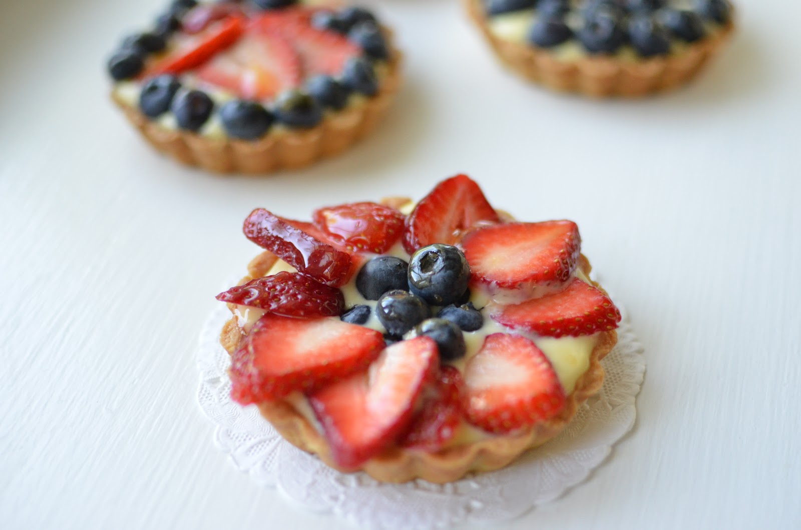 playing with flour mini fruit tarts for moms. Black Bedroom Furniture Sets. Home Design Ideas