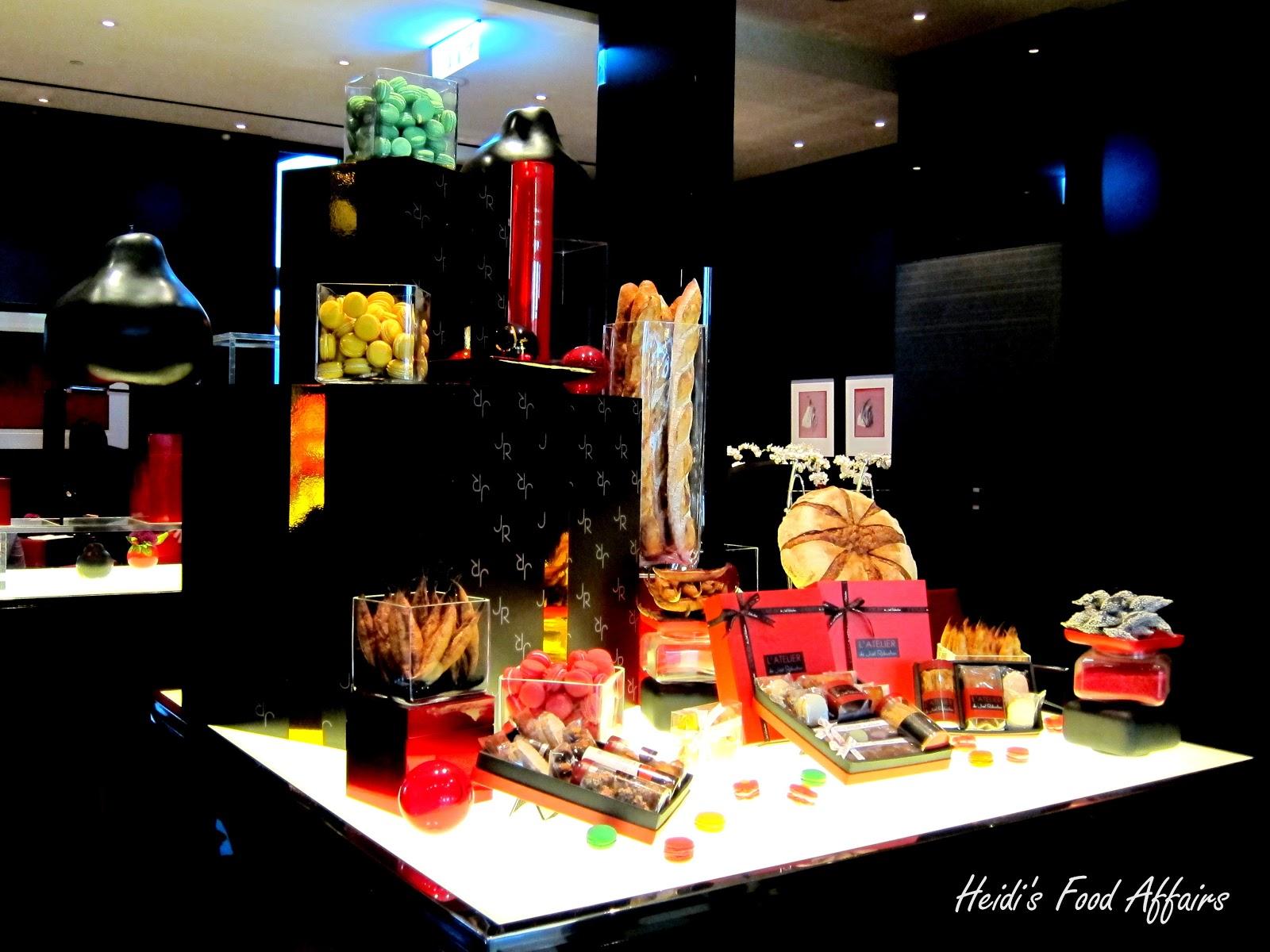 Taipei salon de the de joel robuchon heidi 39 s food affairs - Salon de joel robuchon ...