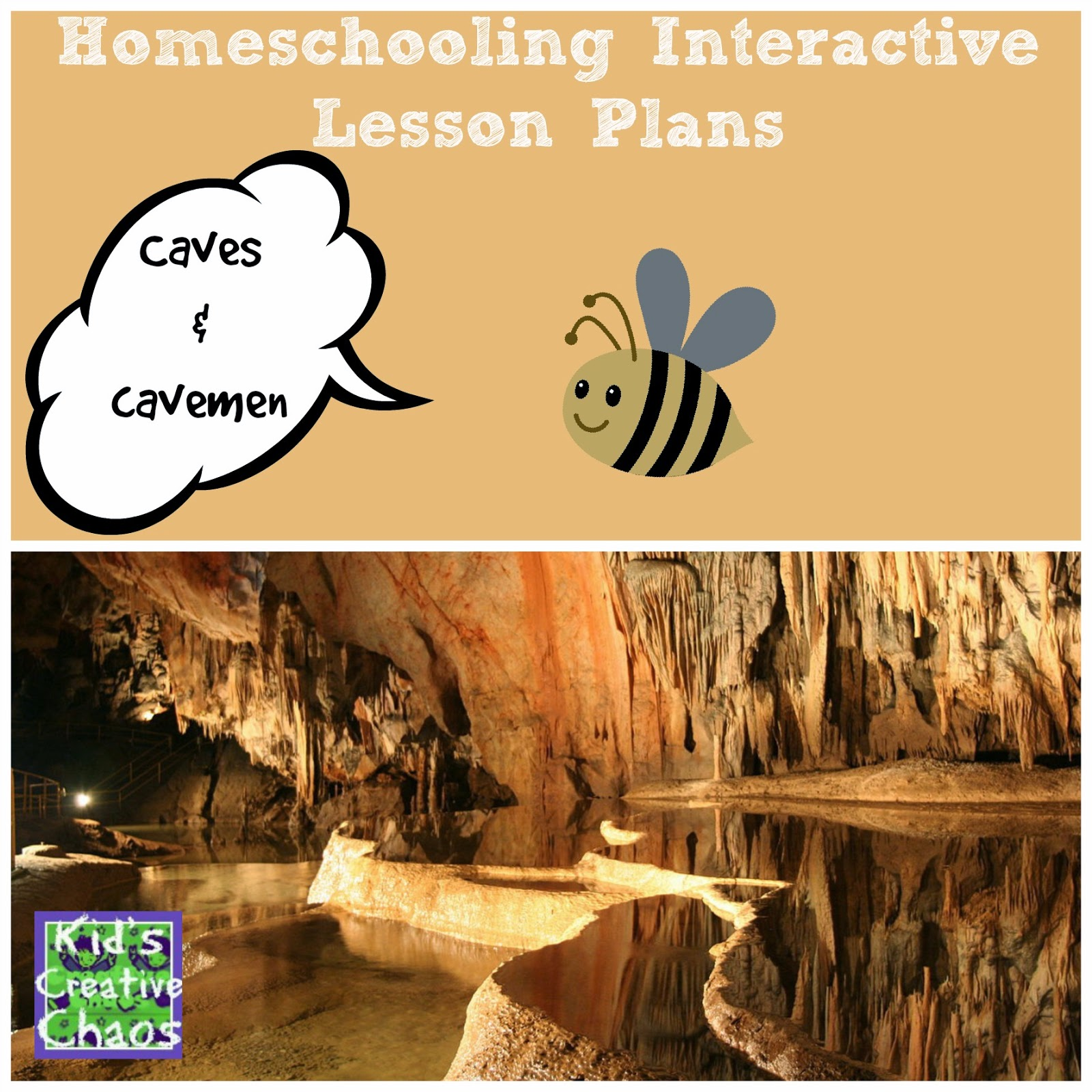 Free Homeschooling Online: Cave Study Lesson.