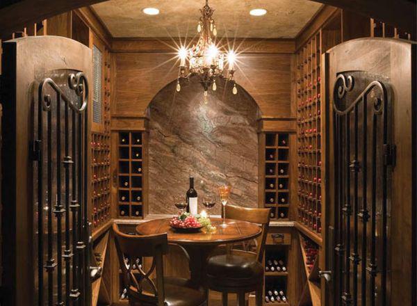 C mo almacenar los vinos ideas de dise o sorprendentes - Decoracion bodegas rusticas ...