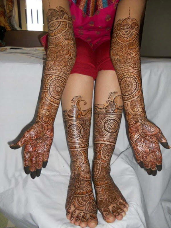 Indian Mehndi Designs 2014 for Hand and Feet   Latest