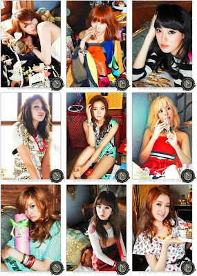 After School members Shampoo concept photos