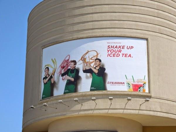Starbucks Teavana Iced Tea billboard
