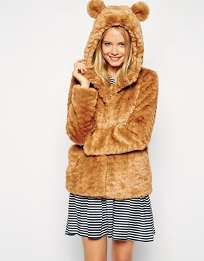 fur jacket asos