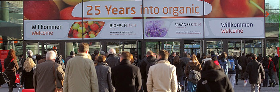 BIOFACH - World's leading Trade Fair for Organic Food  into organic.