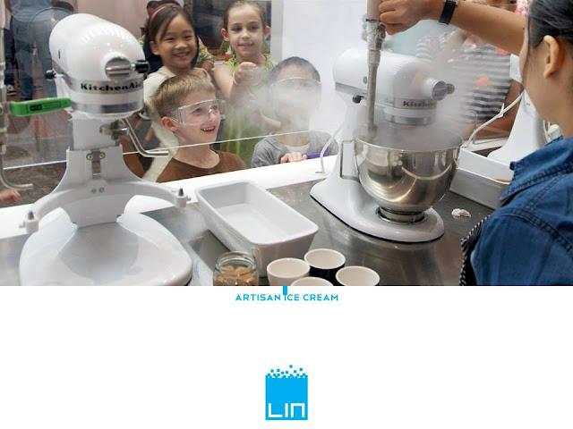LIN Ice cream Jakarta