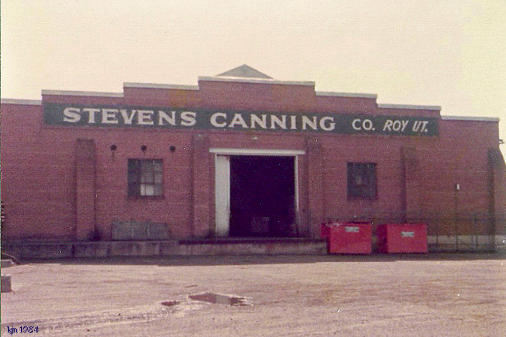 The Outskirts Of Suburbia Stevens Cannery Roy Utah Pg 174