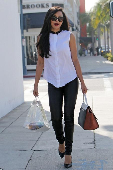 Naya Rivera Street Style 2013