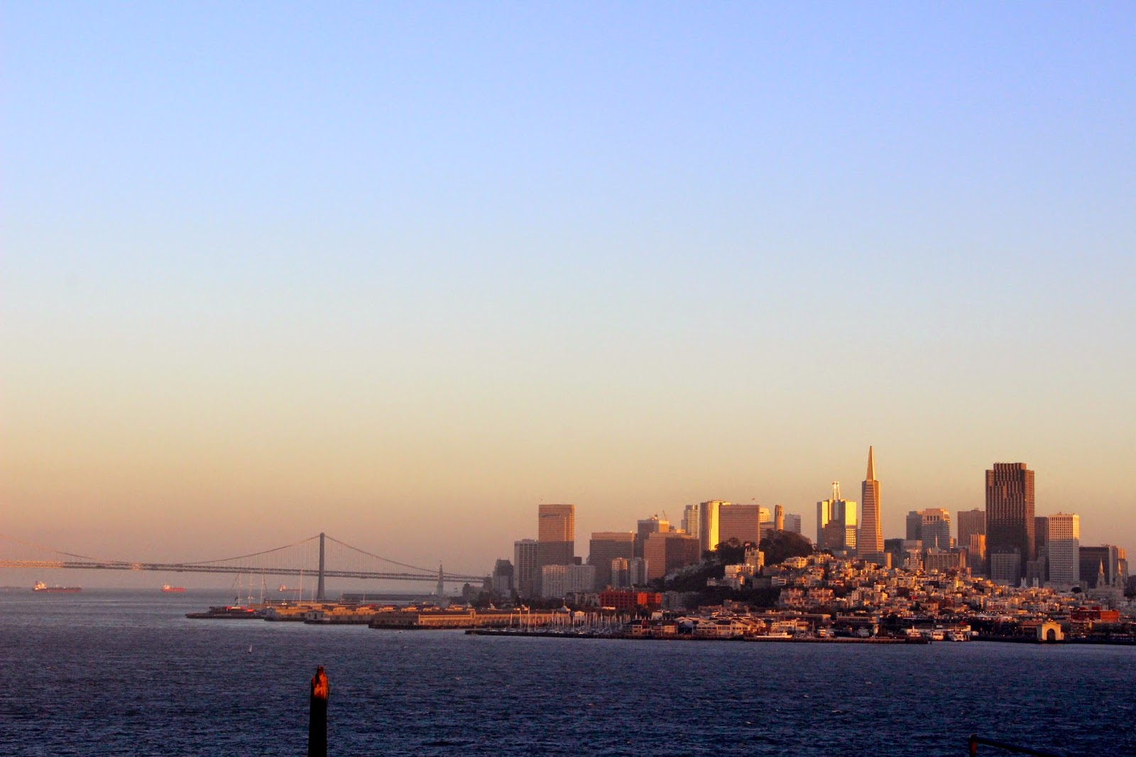 View of San Fran from Alcatraz