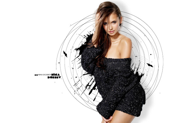 Hot Celebs Nina Dobrev Wallpapers 2013