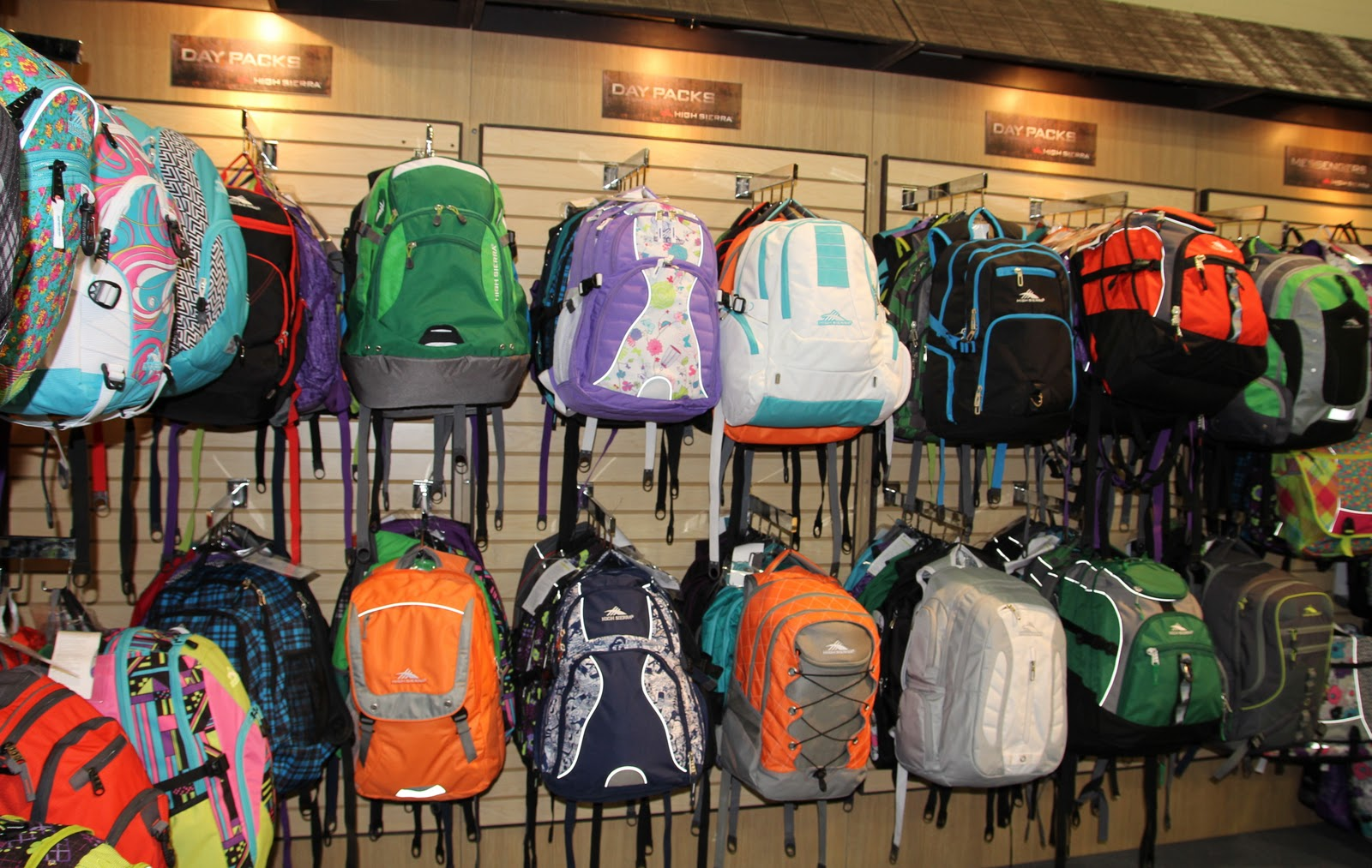 LYRA MAG.: HIGH SIERRA BACKPACKS, MESSENGER BAGS, LUGGAGE SPRING 2012