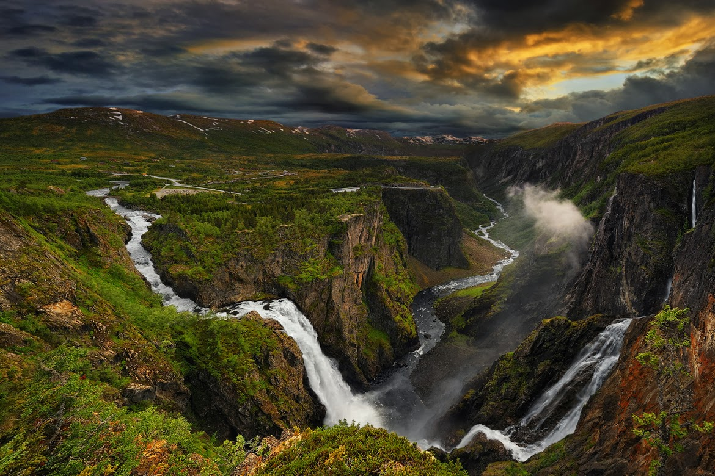 Banco de im genes 33 fotograf as de cascadas con hermosos for Fotos cascadas