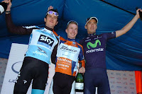 Podio final del Tour Down Under 2013