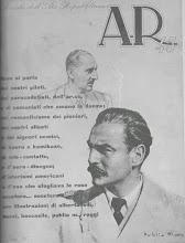 """LA COPERTINA DEL NUMERO UNICO """"AR45"""""""