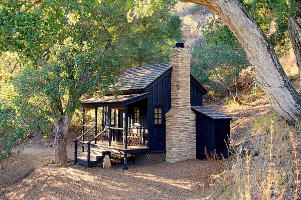 Фото дома в лесу своими руками