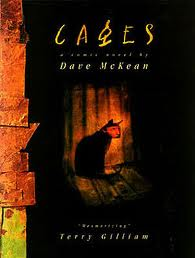 Cages Graphic novel by Dave McKean