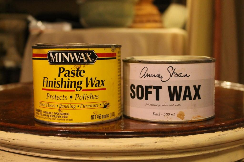 annie sloan chalk paint wax instructions