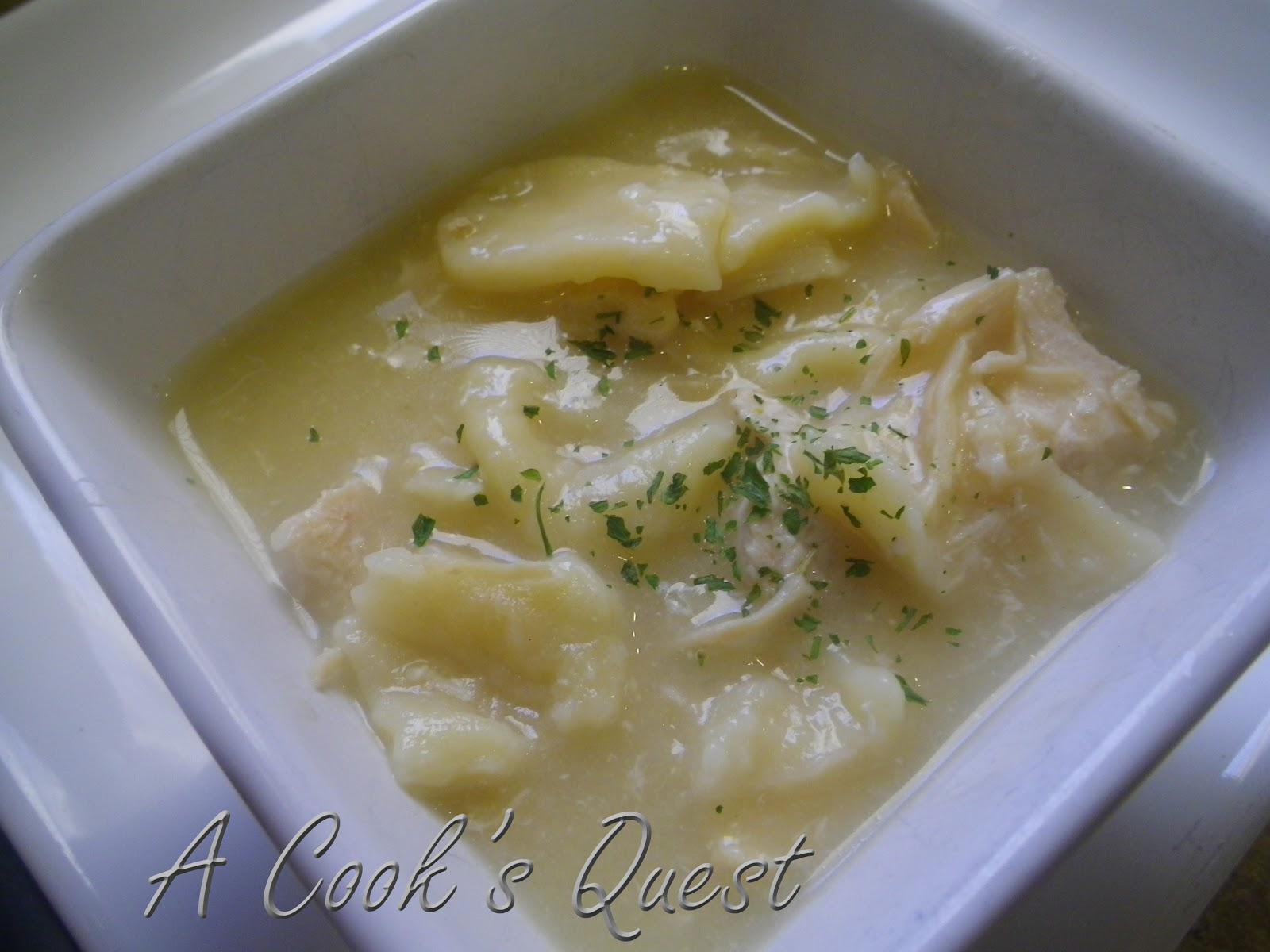 Cook's Quest: Chicken and Dumplings