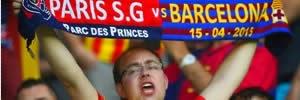 PSG 1 x 3 Barcelona: Veja os gols de Neymar e Súarez
