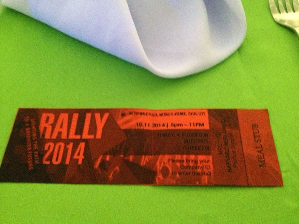 HIBU Rally 2014