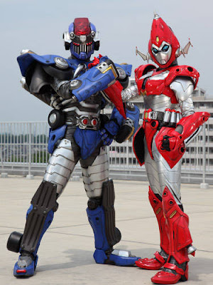 Space Ironmen Kyoudain Returns in Kamen Rider Fourze Film as Villains