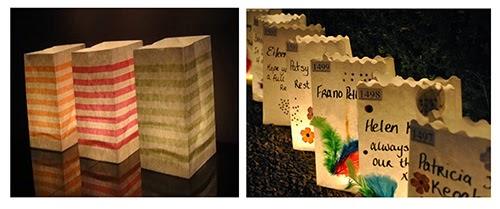 decoração, festa, craft, luminária, vela