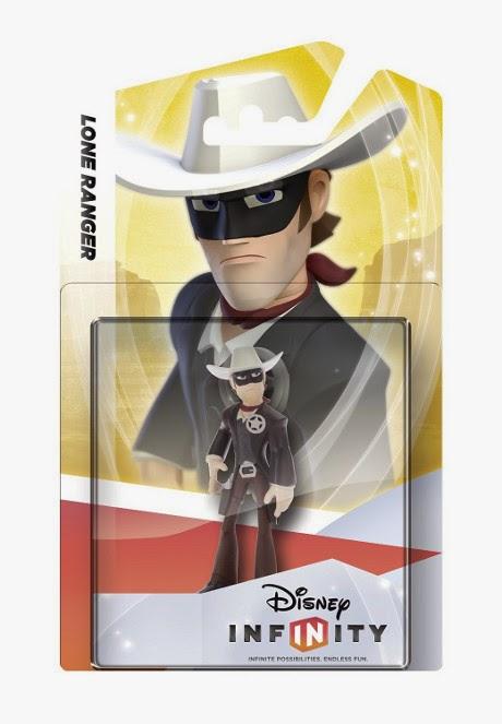 JUGUETES - DISNEY Infinity 1.0  Figura Lone Ranger : El Llanero Solitario   (6 Febrero 2015) | Muñeco | Videojuegos Producto Oficial | A partir de 7 años Xbox One, PlayStation 4, Nintendo Wii U, PlayStation 3, Xbox 360