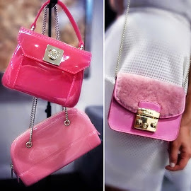 I want... Candy and Metropolis Furla bags and clutches!