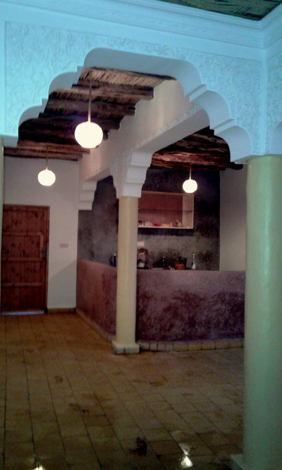 Maison de campagne style marocain