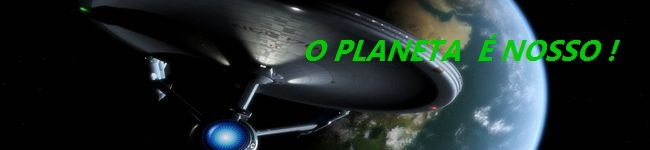 O planeta é nosso!