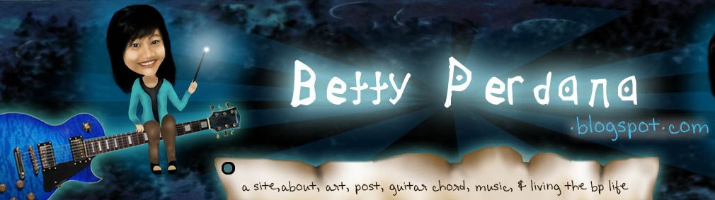 Betty Perdana in Blog
