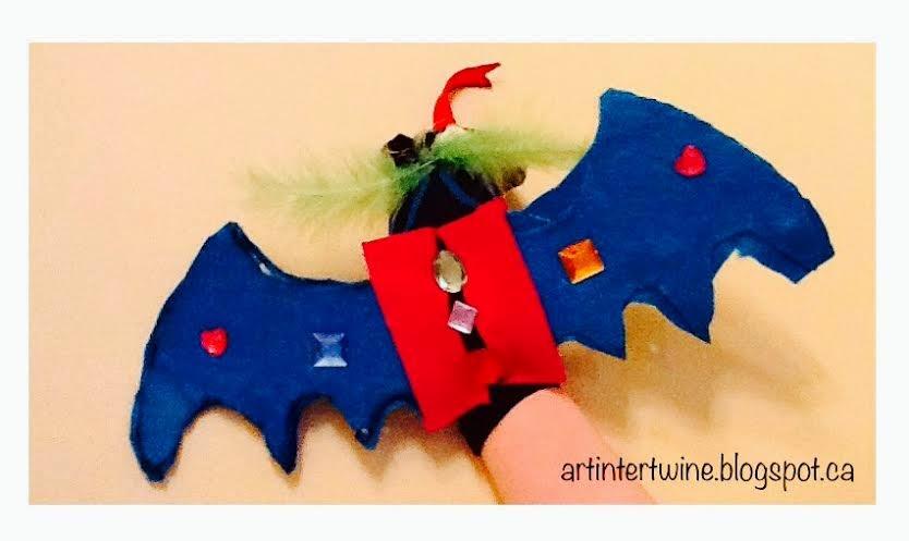 Dragon Sock Puppets