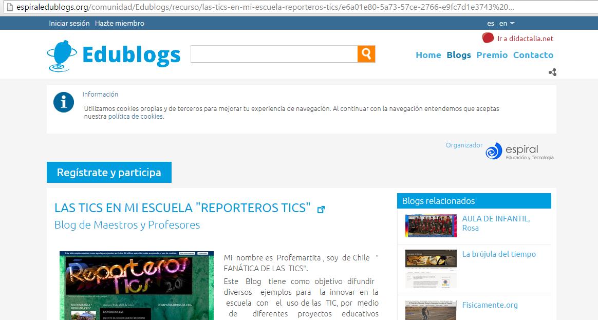 http://espiraledublogs.org/comunidad/Edublogs/recurso/las-tics-en-mi-escuela-reporteros-tics/e6a01e80-5a73-57ce-2766-e9fc7d1e3743%20%E2%80%A6
