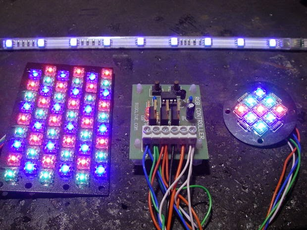 simple rgb led controller circuit electronic circuit projects help please please suggest a simple circuit using easily available components for rgb controller