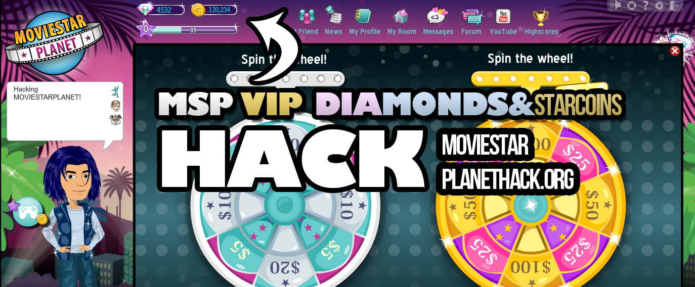Unlimited Diamonds , Starcoins and VIP