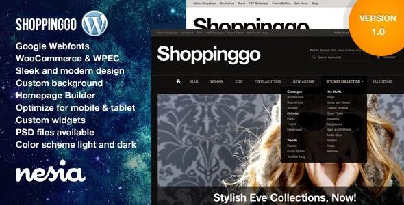 Shoppinggo – WordPress eCommerce Theme
