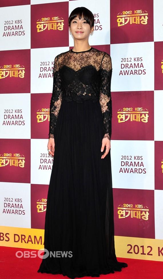 Park Jung Ah 2012 KBS Drama Awards