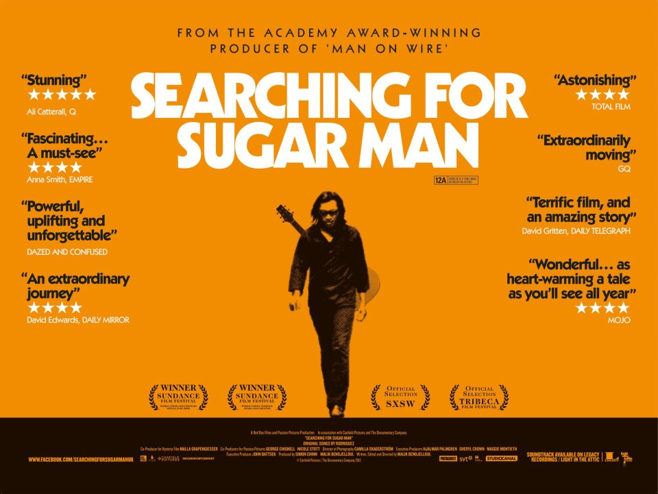 CINESPERA AWARDS 2012    Ganador: Searching for Sugar Man