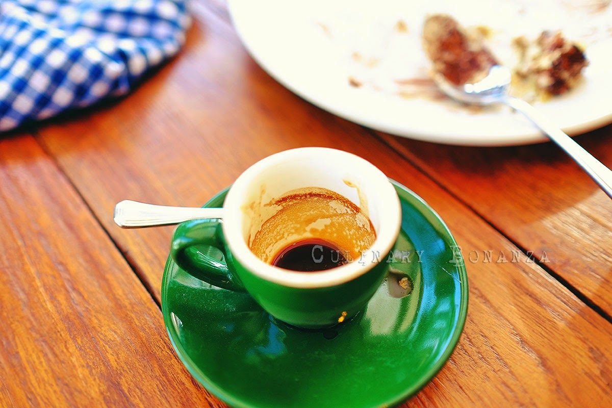 Segafreddo espresso