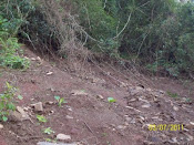 O novo deslizamento no Botucaraí.
