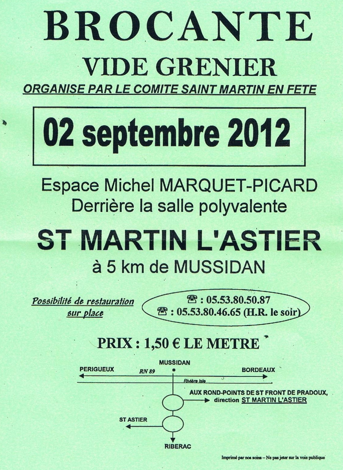Not just for the holidays week 35 2012 - Difference brocante vide grenier ...