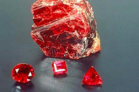 Jenis cincin batu merah delima asli