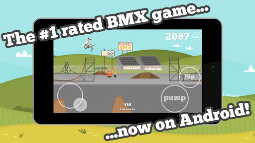 Pumped: BMX games