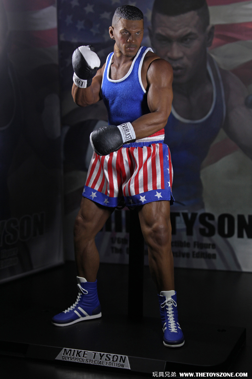 Unboxing storm collectibles 1 6 mike tyson olympics for Tji 360 price