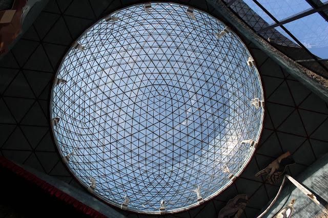 La Gran Cúpula en el Museo de Salvador Dalí