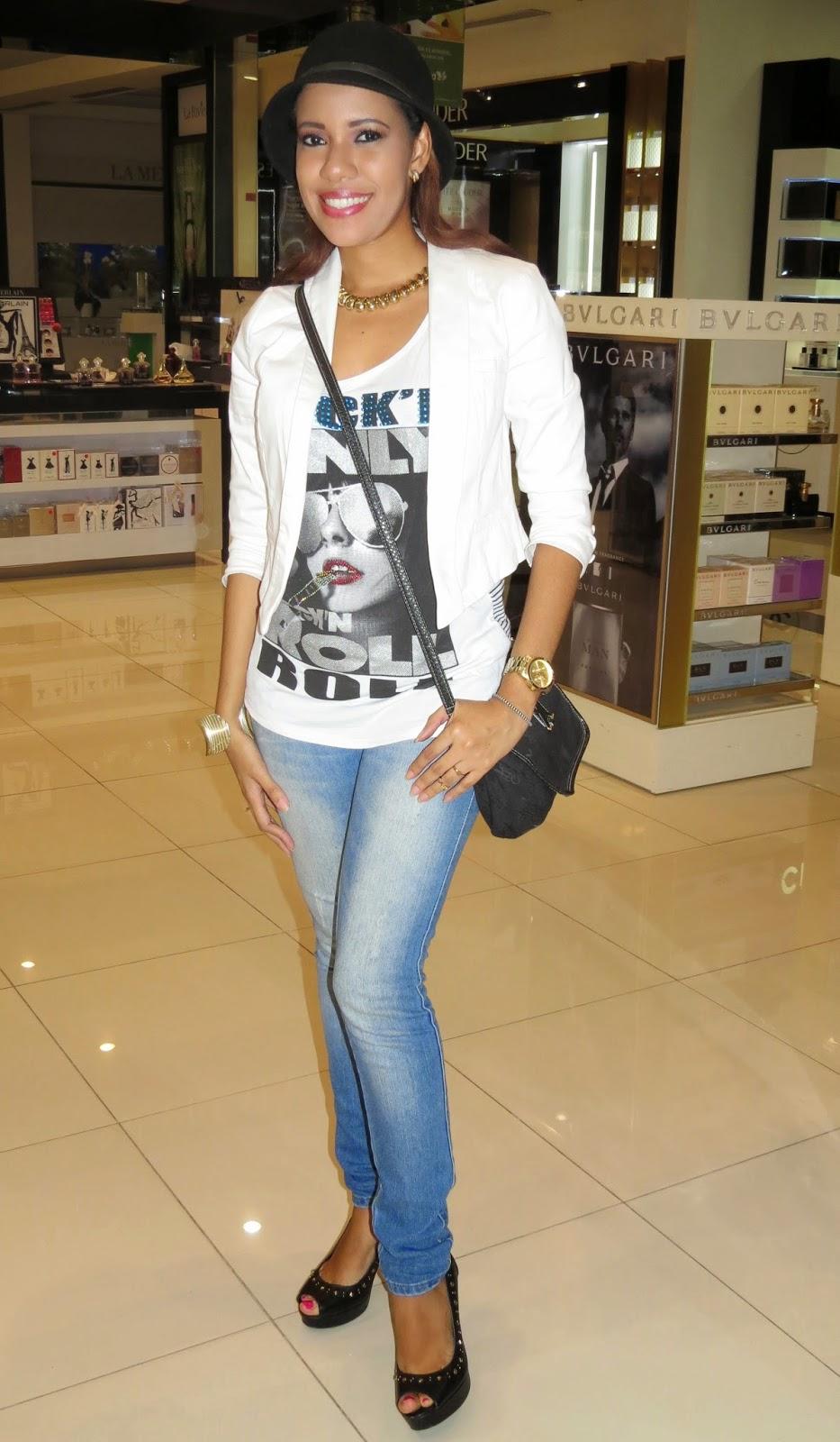 Princesa Miel Blog (Outfit) Look Casual Chic / Opciu00f3n Du00eda Lluvioso