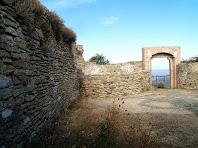 La porta d'entrada al castell