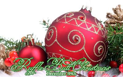 Ruffle-Extremidade Natal